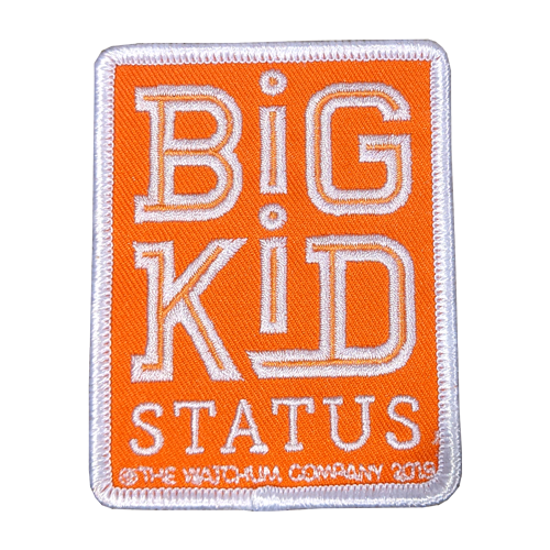 Big Kid Status patch